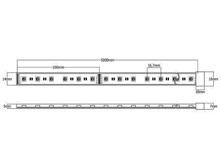 Medidas LX19.2 RGBW
